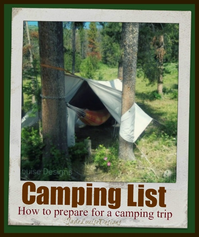 Camping List: How to prepare for a Camping Trip