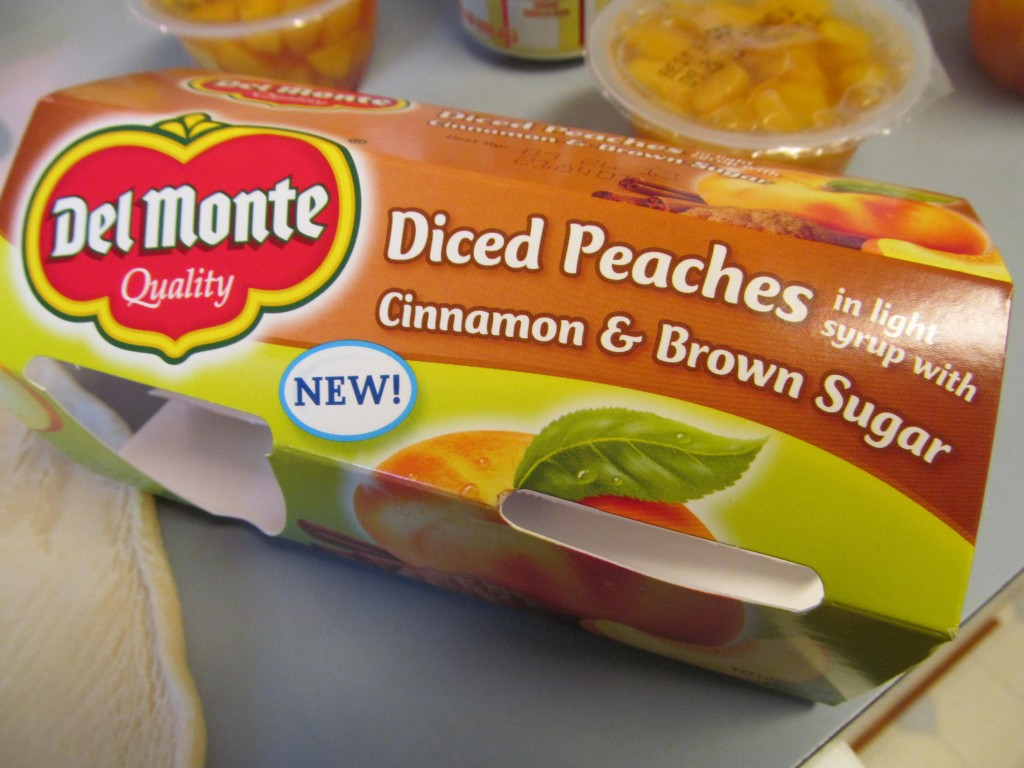 Del Monte Fruit cups #smartsnacks for back to school