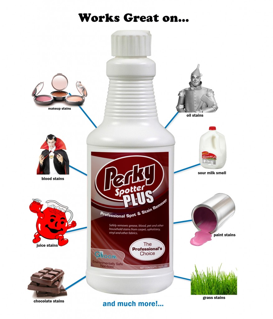 Perky Plus Stain remover, how to get stain out of carpet