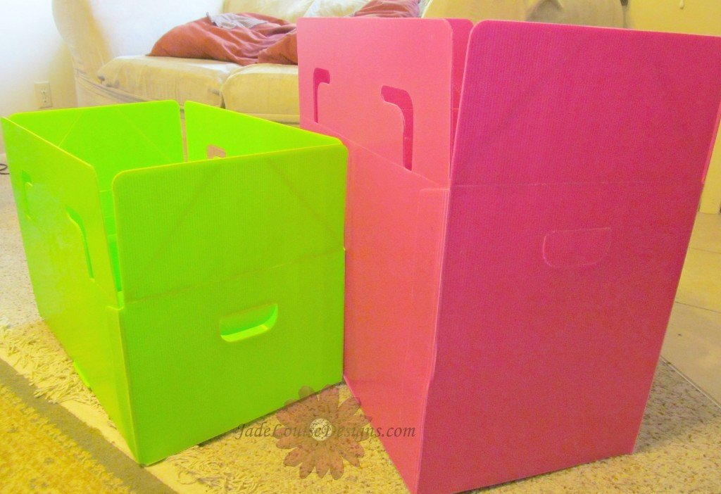Packing Tips, Packaways plastic storage boxes