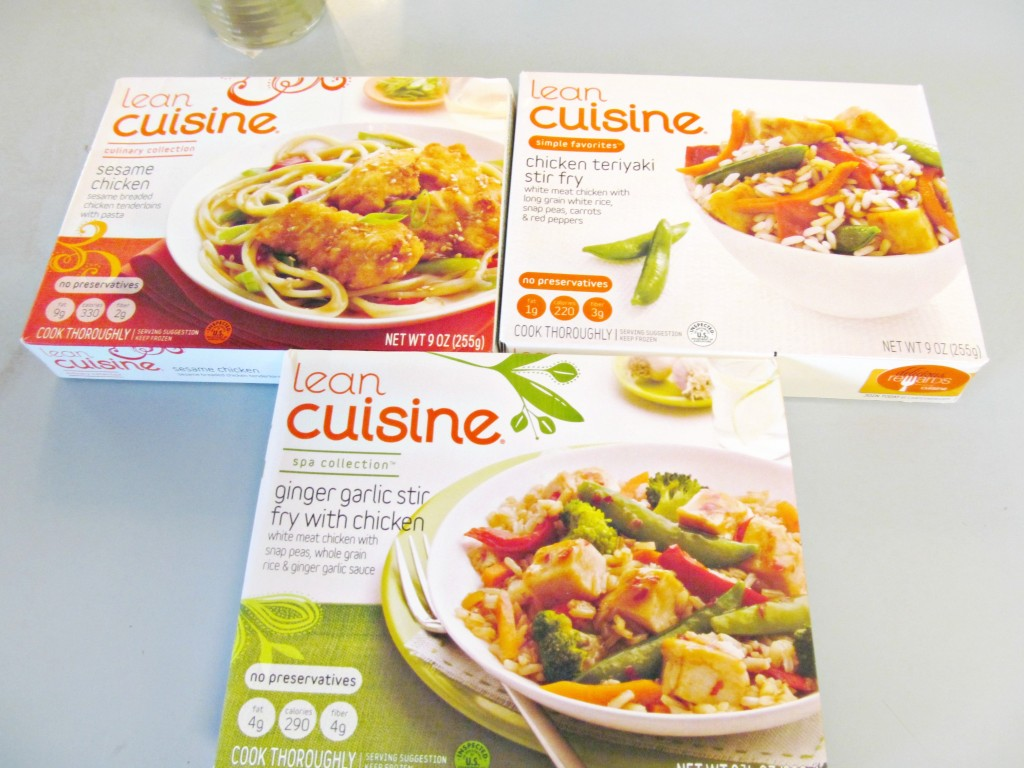 Girls night in lean cuisine asian dinner diy paper lanterns for Are lean cuisine meals healthy