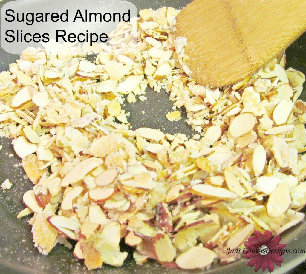 Sugared Almond slices recipe