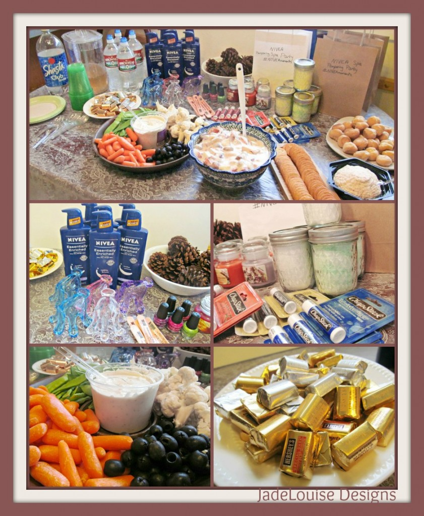 Host a Ladies Night Out Spa Party #NIVEAmoments #Cbias