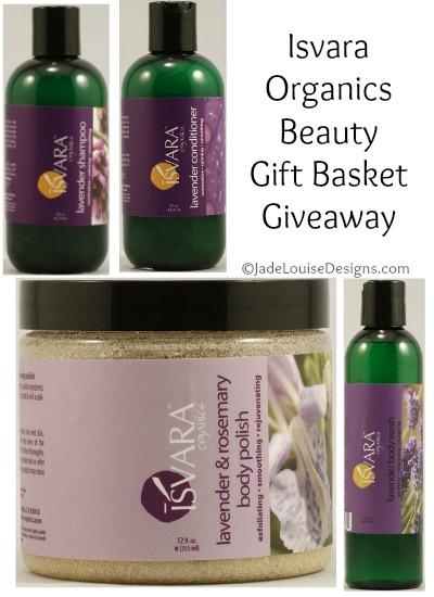 Isvara Organics Beauty Gift Basket Giveaway