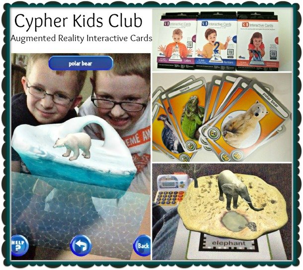 Augmented Reality with Cypher Kids Club Reality Cards for Kids #CypherKidsClub #cbias