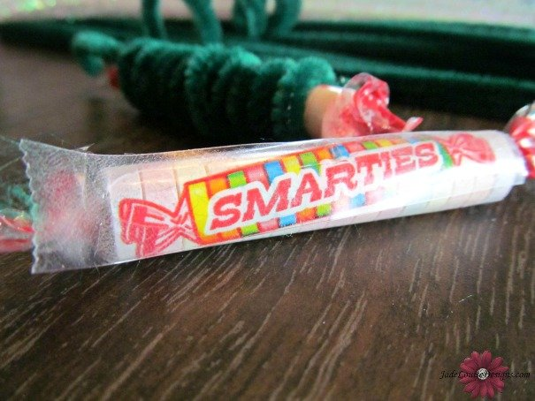 Smarties Christmas Craft for kids; Create a Smarties Christmas Tree #IAmASmartie