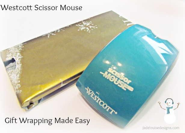 Westcott Scissors make Gift wrapping easy