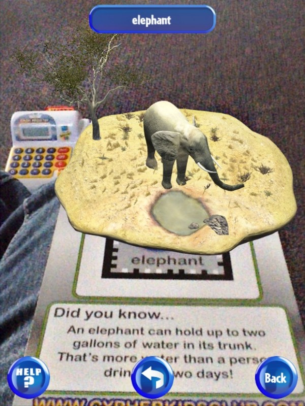 Augmented reality 3D interactive cards for kids #CypherKidsClub #cbias