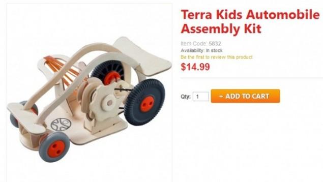 Haba Terra Kids Assembly Kit automobile Kids Toy