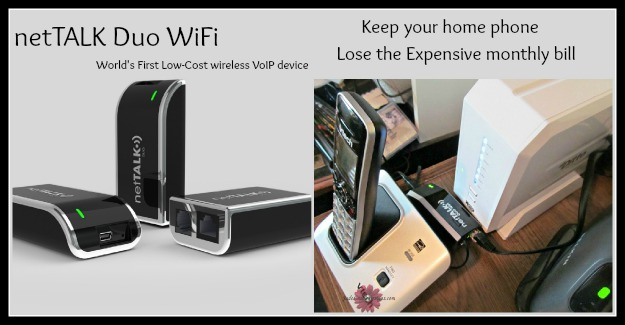 netTALK Duo WiFi Replace your expensive landline with VOIP.