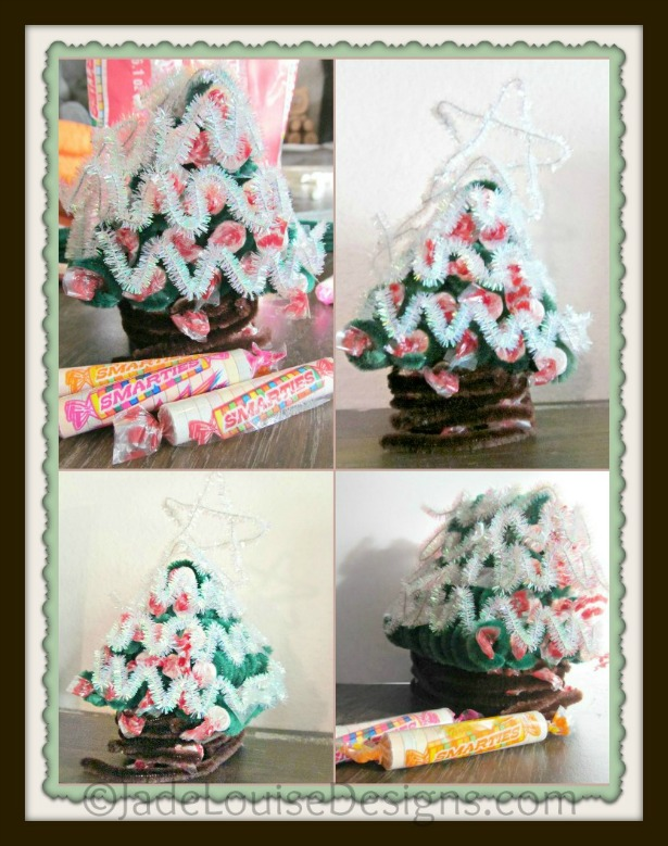 Smarties Christmas Craft for Kids #IamASmartie #cbias