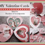 DIY Valentine Cards Kids Crafts, Valentine's Day Cards for Teachers & Grandparents #BIC4ColorPen