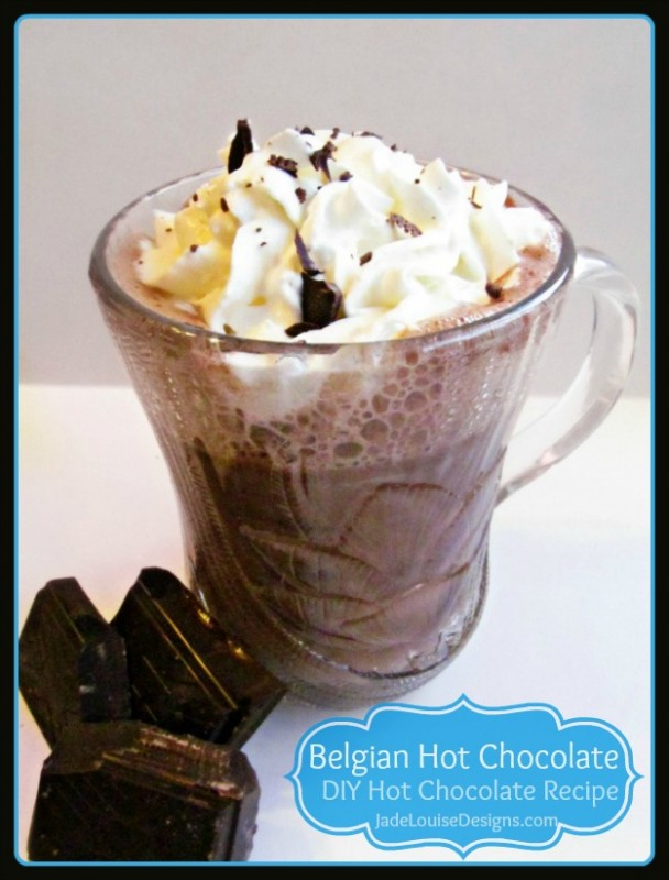 Belgian Hot Chocolate Recipe; Best Homemade Hot Chocolate Recipe. A ...