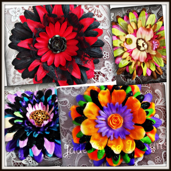 Flirty Flower Tutorial Valentines Day Crafts. Easy DIY  #valentinesday