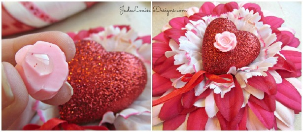 Valentine's Day Layered DIY Flower Tutorial for Crafts #valentinesday