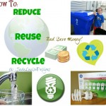 Discover easy ways to Reduce Reuse Recycle and Save Money for your Family | GE Lighting