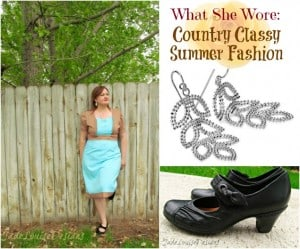 Post image for What She Wore: Summer Fashion a Bit of Country with a Touch of Class