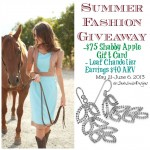 Vintage Summer Fashion Giveaway! $75 Shabby Apple Gift Card and Chandelier Earrings from Blue Nile