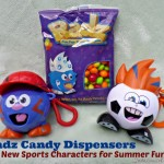 Radz Candy Dispenser brings A New Dimension to Summer Sports!