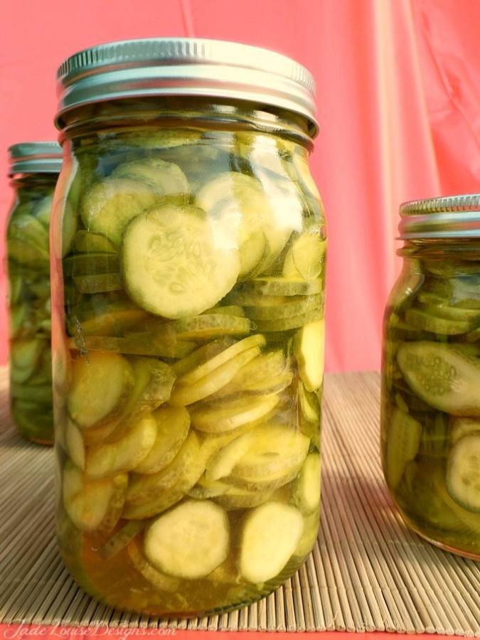 Canned Dill Pickle Recipe Homemade pickles for the shelf | Food Storage Series