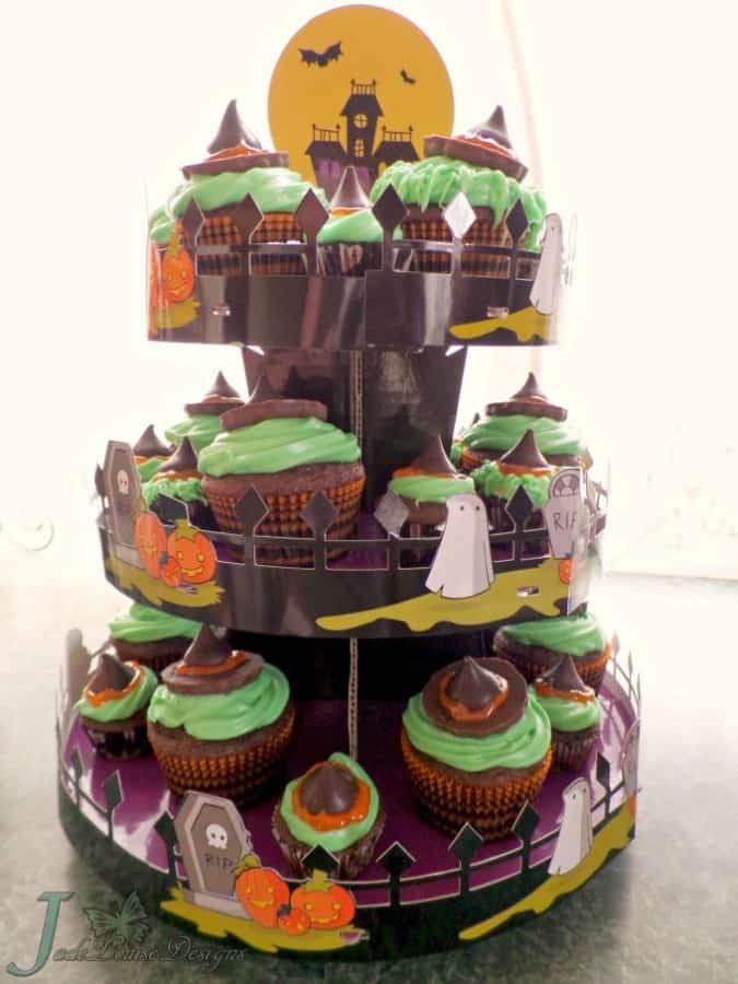 Halloween Witch Cupcake Ideas