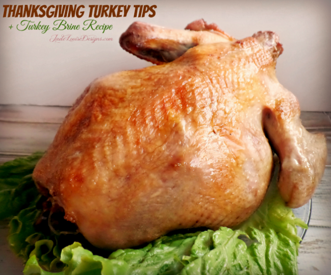 Thanksgiving Turkey Tips plus Turkey Brine Recipe, How to roast a turkey and How to carve a turkey!