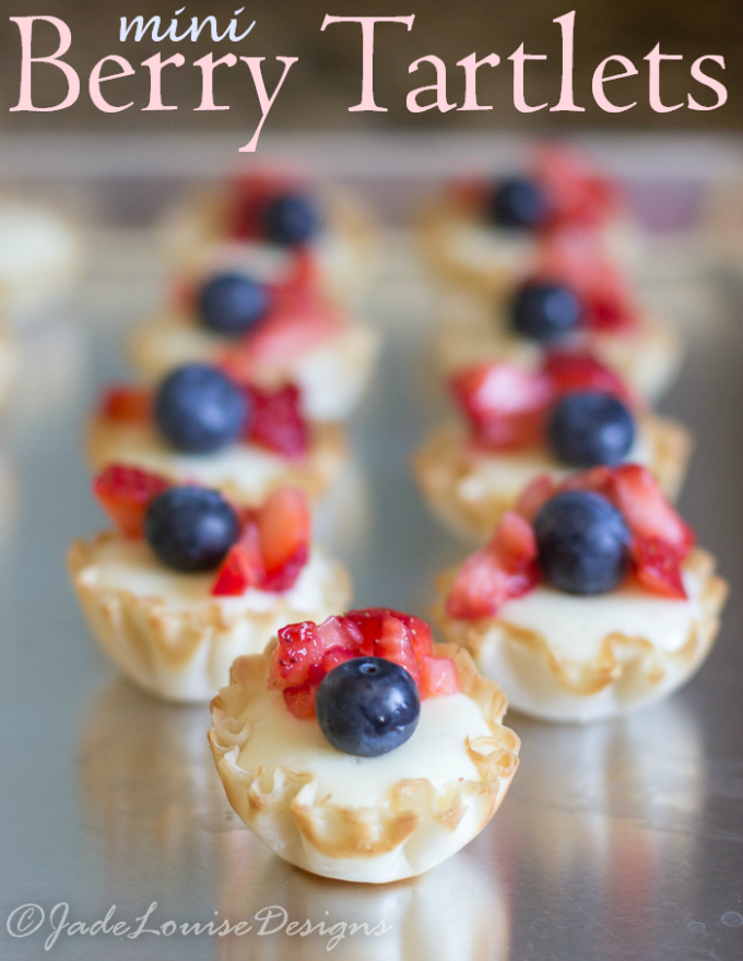 Tartlet Recipes Dessert Berry Tartlet Recipe Perfect