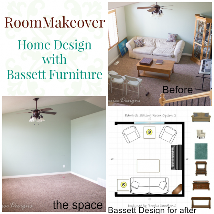 Sitting Room Makeover With Bassett Furniture