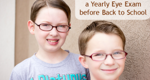 Why Kids need a Yearly Eye Exam for Back to School