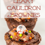 Leaky Cauldron Brownies, A Delicious Halloween Dessert #SweetworksFall
