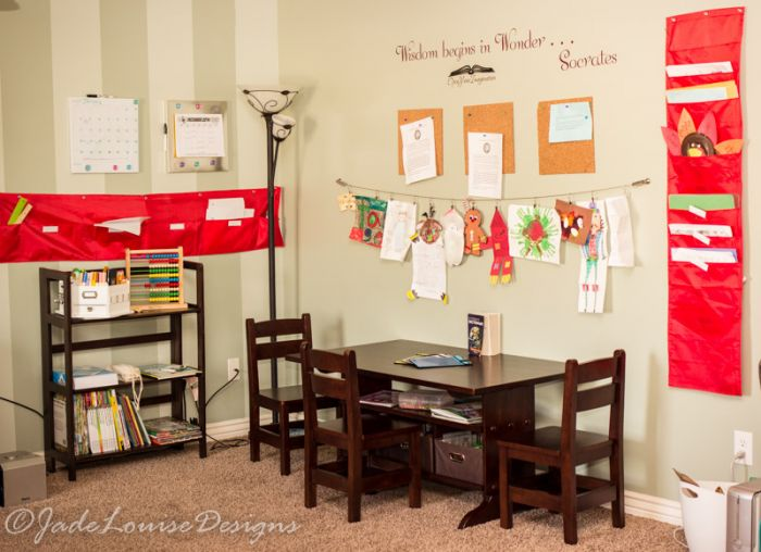 Diy Homework Station A Central Location For All Things School