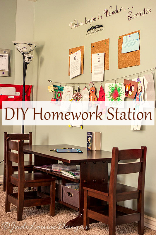 733blog homework station