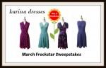 Karina Dresses #Frockstar March Giveaway