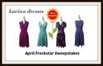 Karina Dresses April Frockstar Giveaway April 1-15