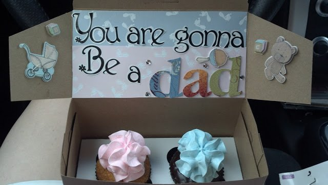 You are gonna be a dad pastries by 4 the love of food blog