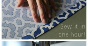 Easy Sew Table Runner - sew it in one hour!