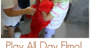 Play All Day Day Elmo - Your curious, energetic child's new friend!