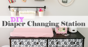DIY Baby Changing Station