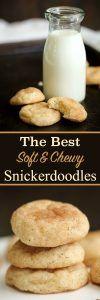 The Best Soft Snickerdoodle Cookies Recipe