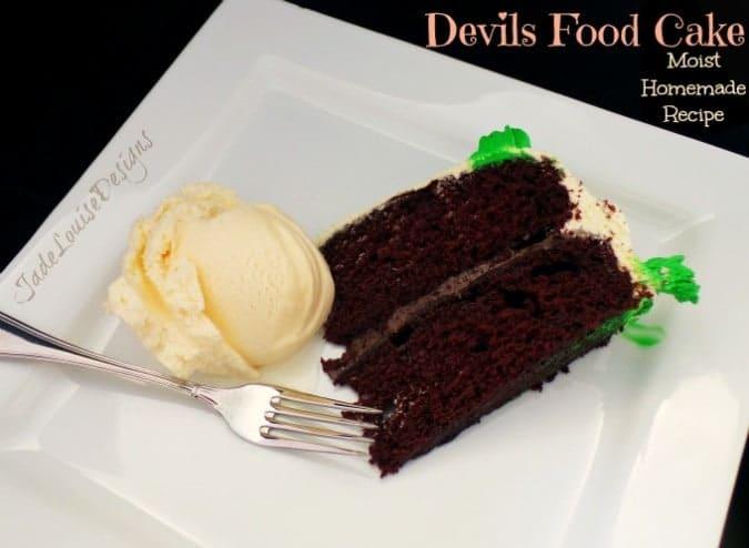 Grandma Maurine's Red Devils Food Cake Recipe