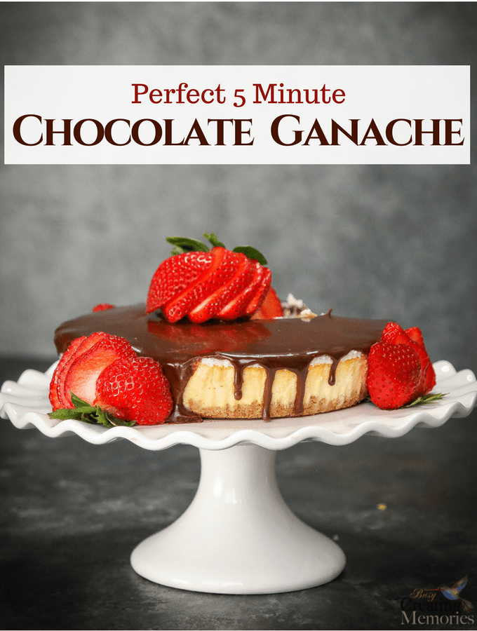 Insanely Easy Chocolate Ganache Recipe
