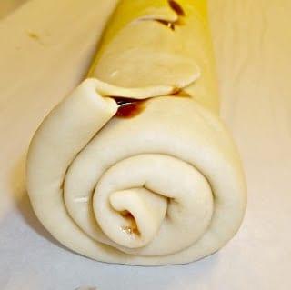 Schoko schnecke German Pastry