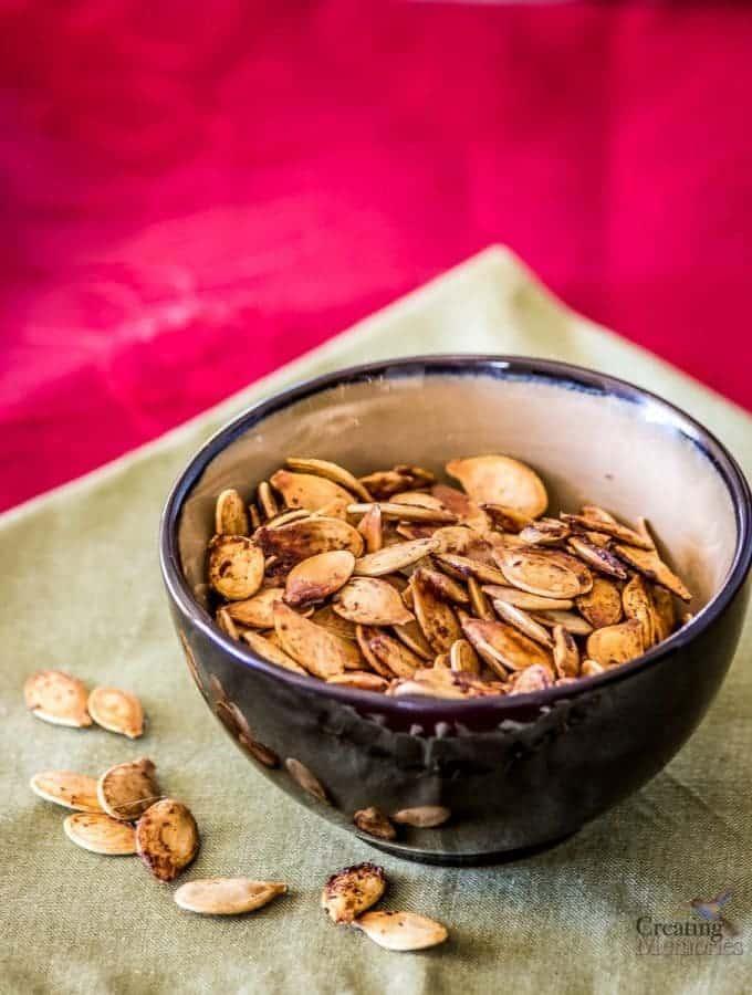 Roasted Pumpkin Seeds Recipe- Family Favorite Recipe
