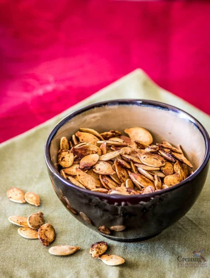 Roasted Pumpkin Seeds- Family Favorite Recipe and DIY Tutorial
