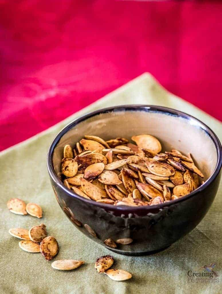 Roasted Pumpkin Seeds Recipe- Family Favorite Recipe