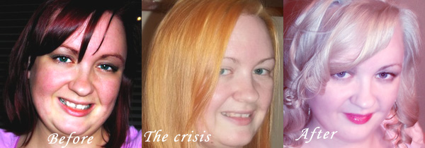 Diy Hair Coloring Dark To Blonde