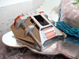 Star Wars Hoth Battle Scene Cake