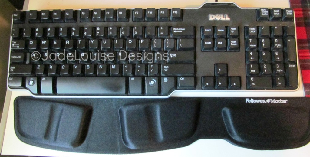 Wrist Pain Relief Keyboard Support