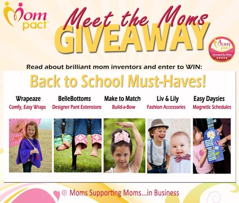 Mompact Back to school must haves Giveaway