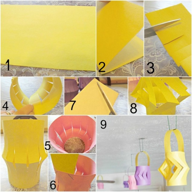 Girls night in lean cuisine asian dinner diy paper lanterns for How to build a chinese lantern